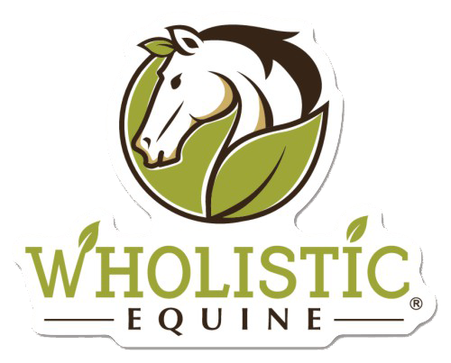 Wholistic Equine Logo Sticker