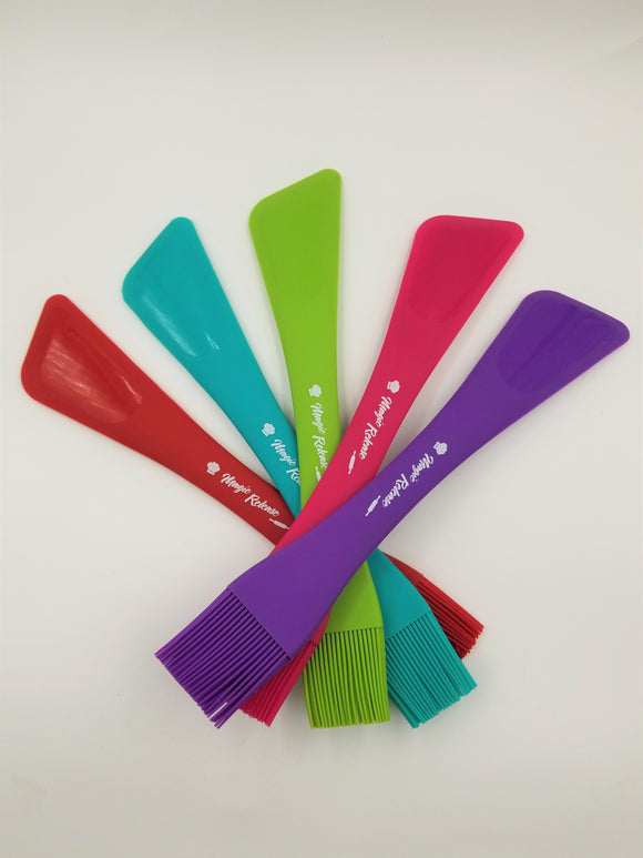 Multi-functional Silicone Pastry Brush and Spatula