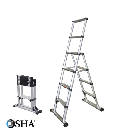 Osha approved telescoping ladder wireless remote for harbor freight hoist