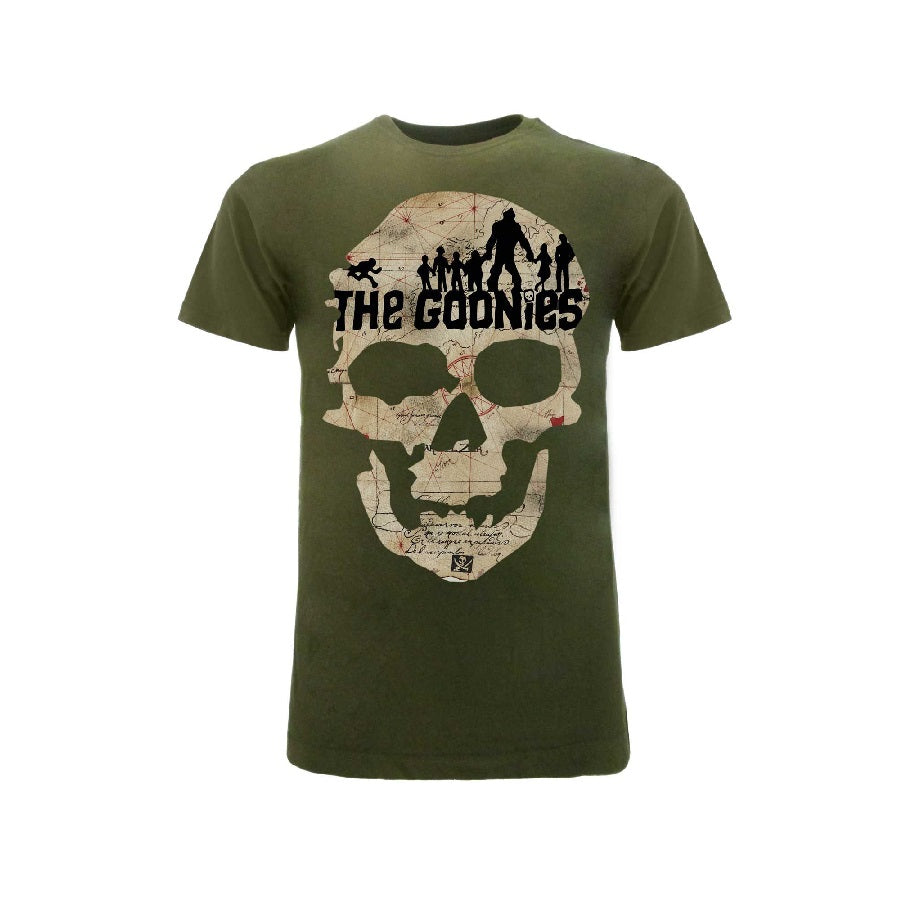 T-Shirt The Goonies Skull Map