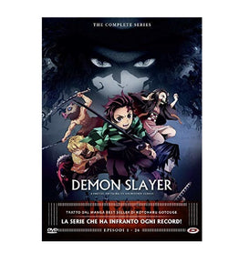 Demon Slayer Cofanetto The Complete Series (Eps. 01-26) (4 DVD)