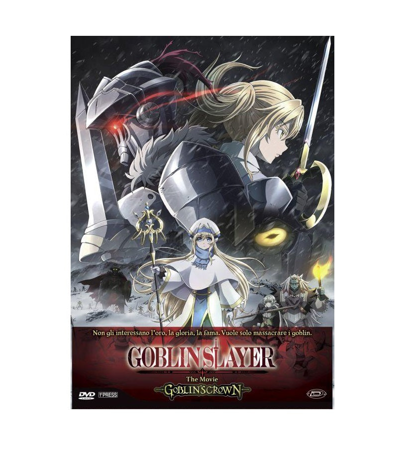 Goblin Slayer The Movie: Goblin'S Crown 1° Press Limited Edition (DVD)