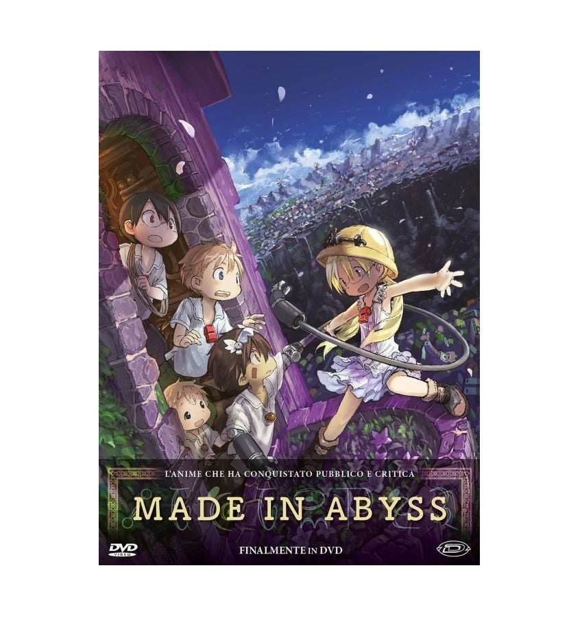 Made In Abyss Limited Edition Box Numerata 700 Copie (Eps. 01-13) (3 DVD)