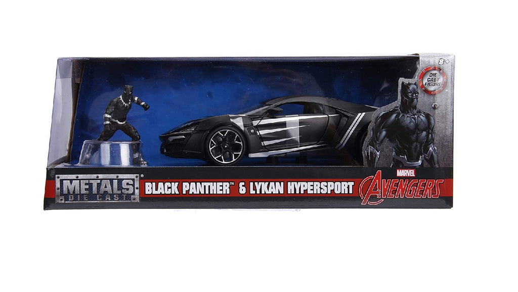 Marvel Avengers Lykan Hypersport Black Panther Die-Cast