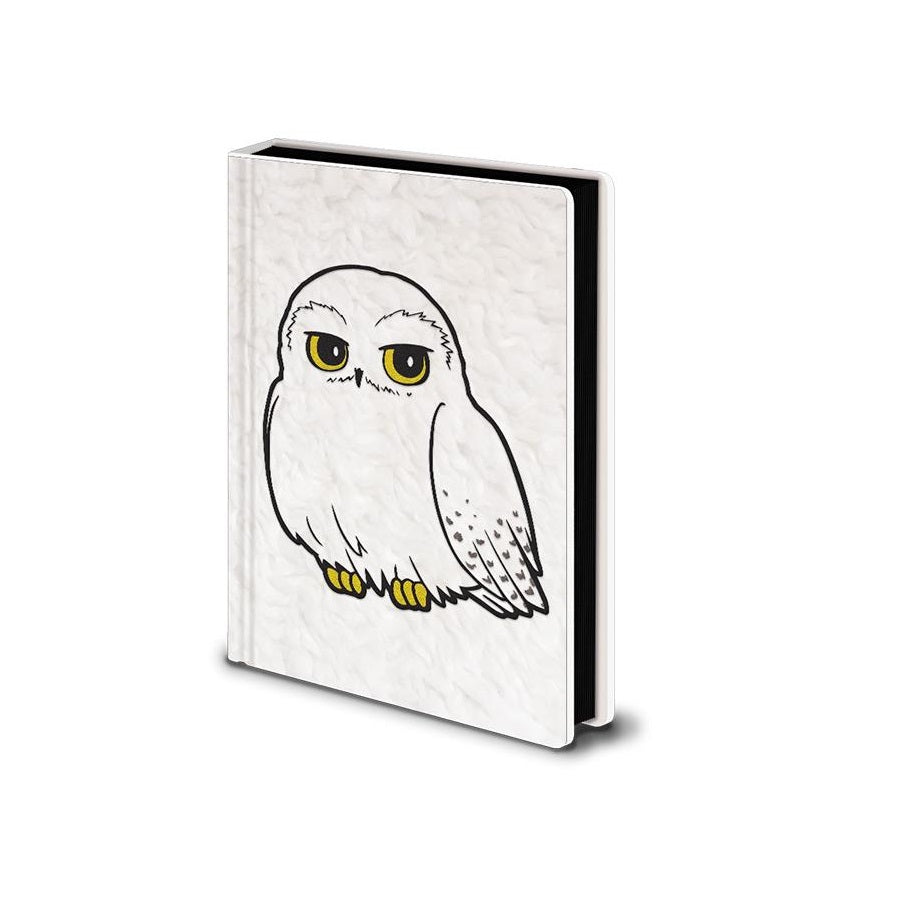 Harry Potter Hedwig Fluffy Premium A5 Notebook Quaderno