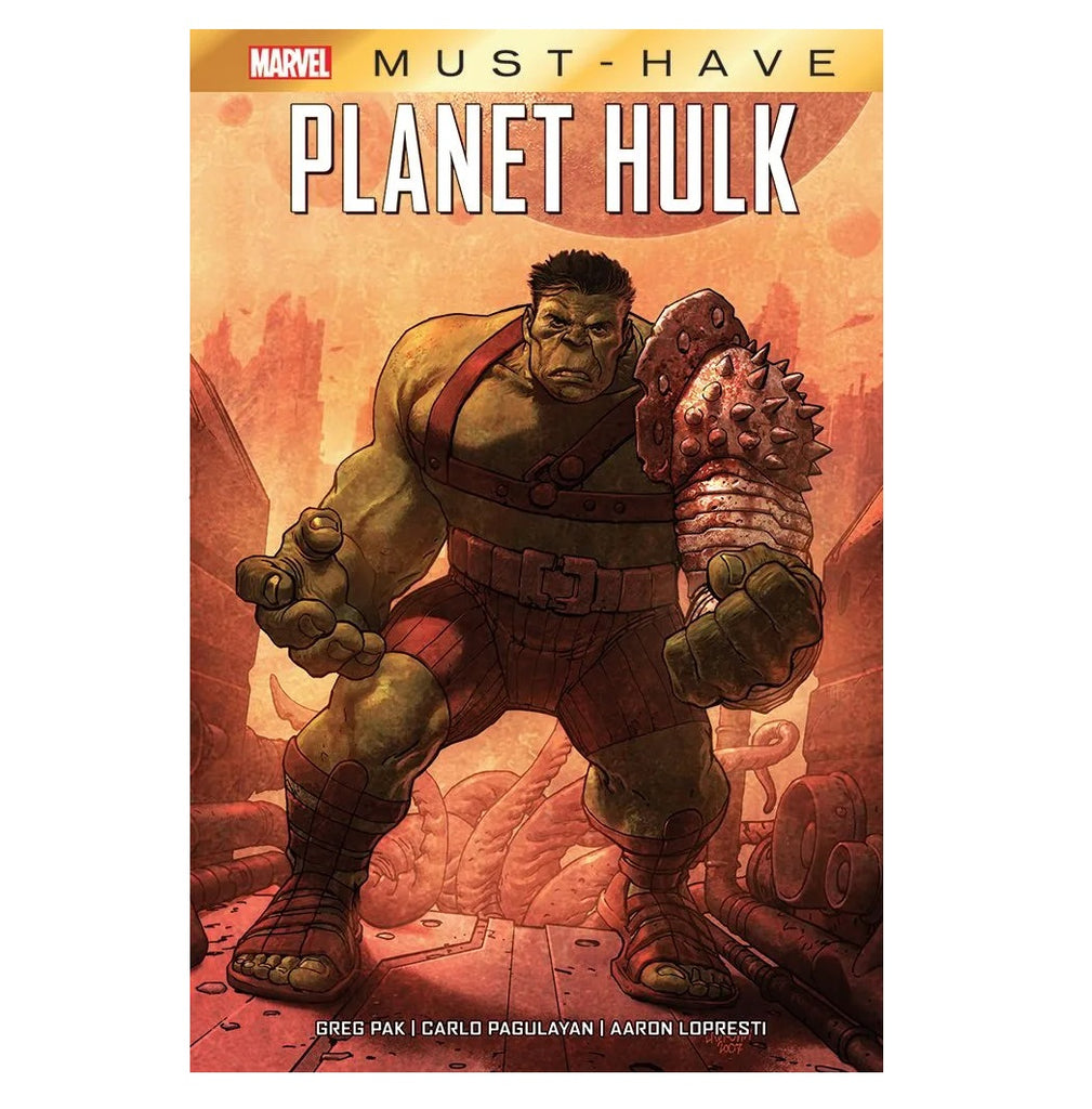Marvel Must Have Planet Hulk Panini Comics