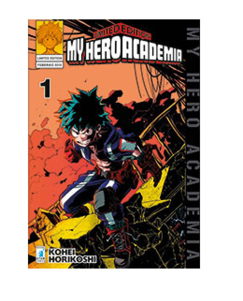 My Hero Academia Manga Edizioni StarComics