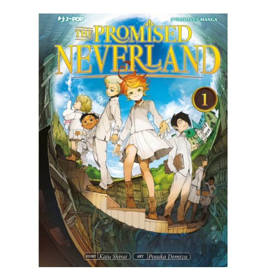 The Promised Neverland Manga J-Pop Edizioni