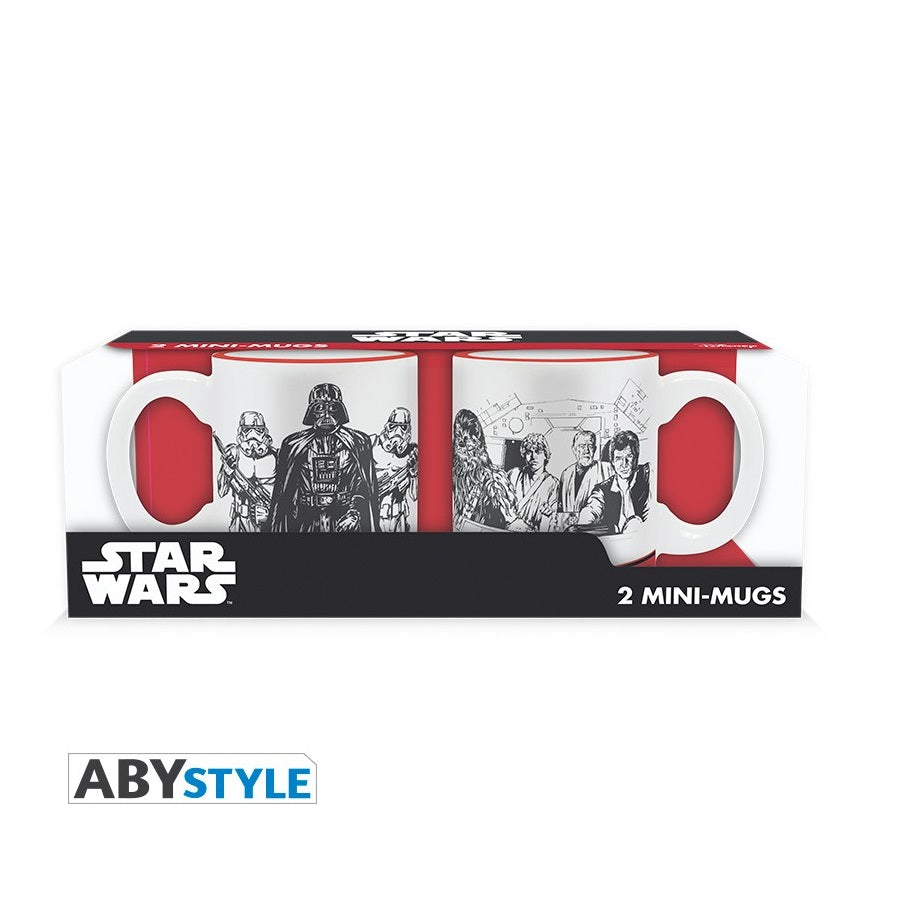 Star Wars Set Tazzine Espresso Impero VS Ribelli