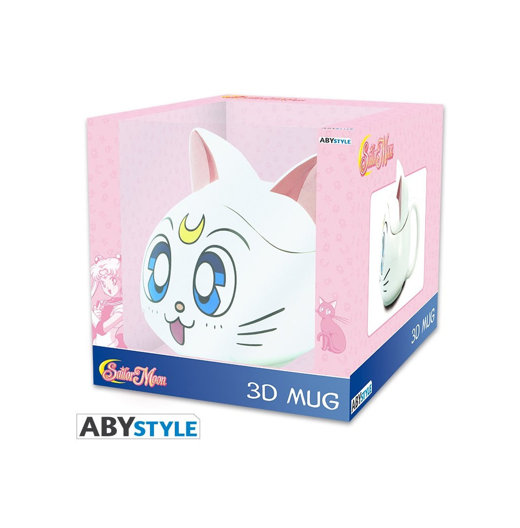 Sailor Moon Tazza 3D Artemis/Artemide Gatto Ceramica