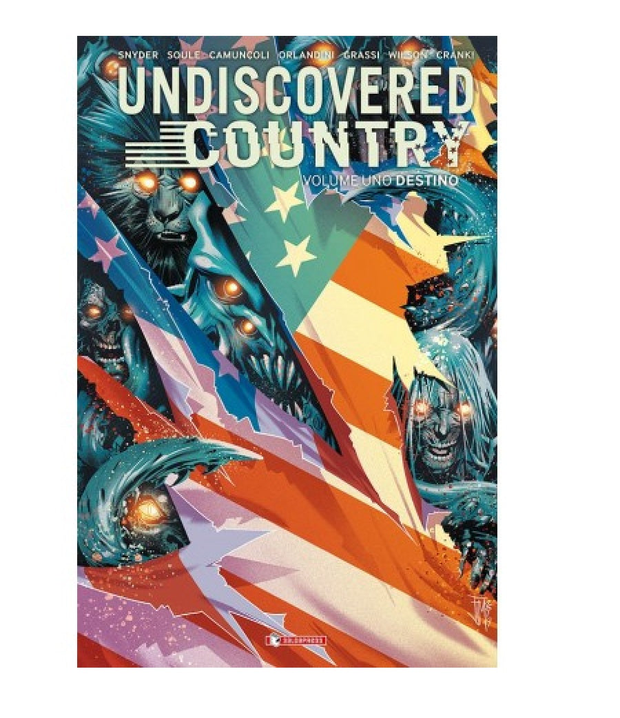Undiscovered Country Vol. 1 Destino Variant - Scott Snyder