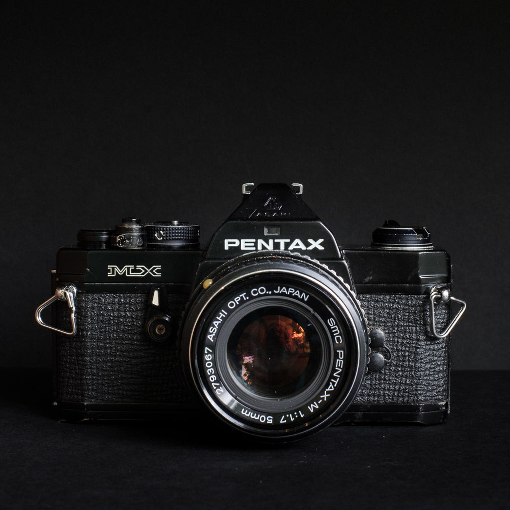 Pentax MX(Black) with Pentax 50mm f1.7