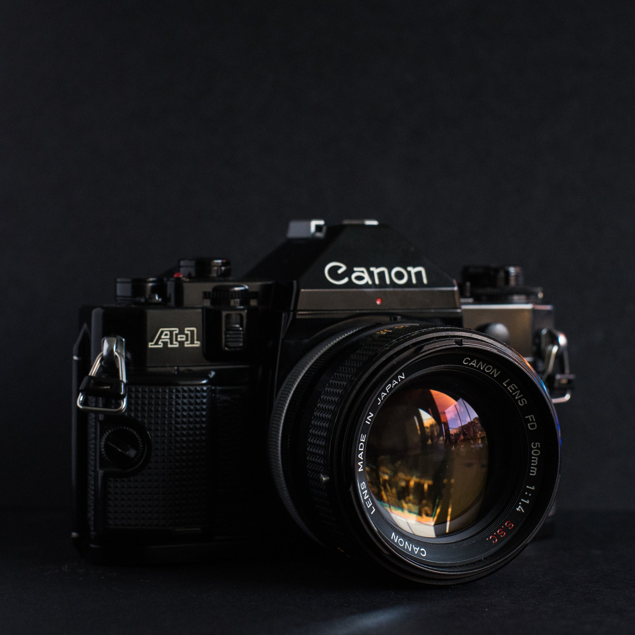 Canon A-1 with Canon 50mm f1.4 SSC