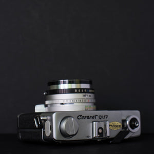 Canon QL17 with Canolite D flash