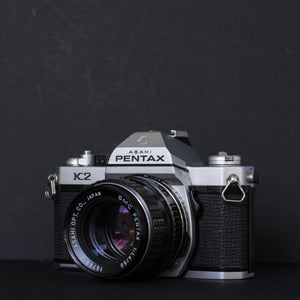 Pentax K2 with Pentax 50mm 1.4 SMC