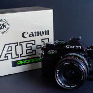 Canon Ae-1 Program with 50mm 1.4 & 28mm 3.5 S.C