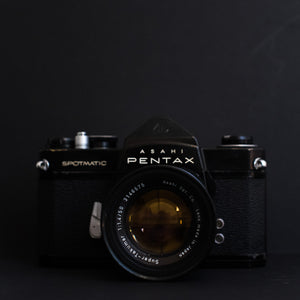 Pentax Spotmatic SP with Super takumar 50mm f1.4