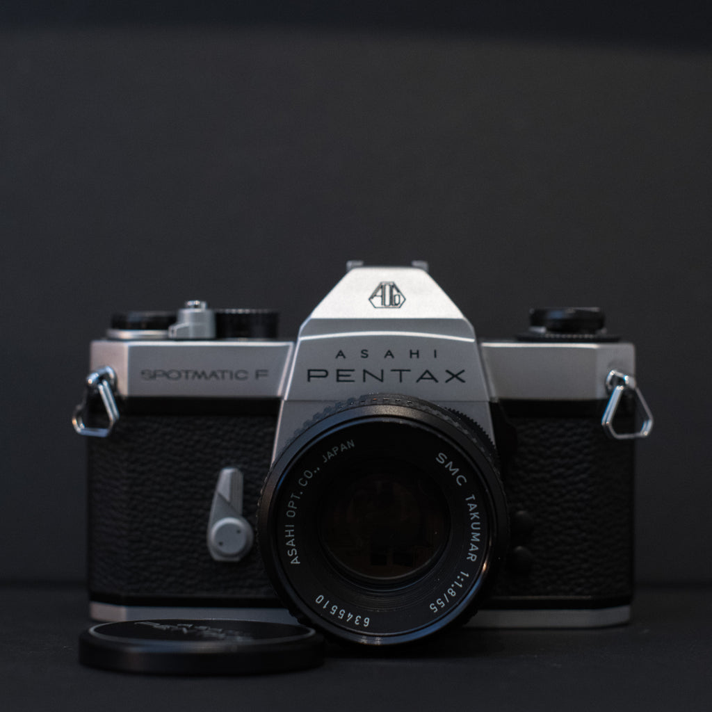Pentax Spotmatic F with SMC 55mm f1.8