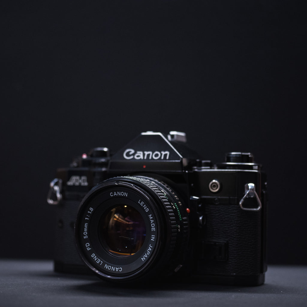 Canon A-1 with Canon 50mm f1.8 lens