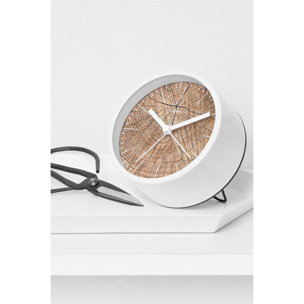 Reloj despertador Structure JR Wood