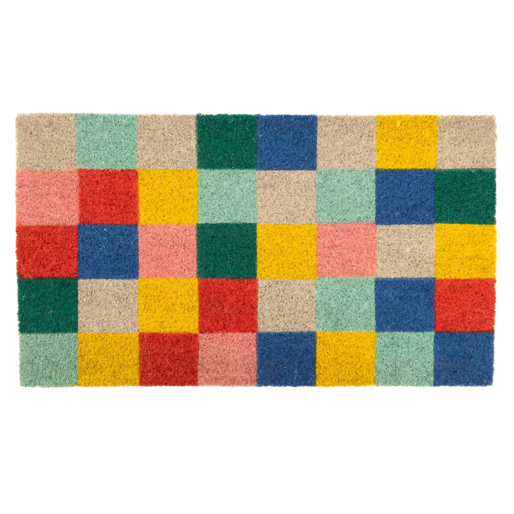 Felpudo  Summer Squares Multicolor