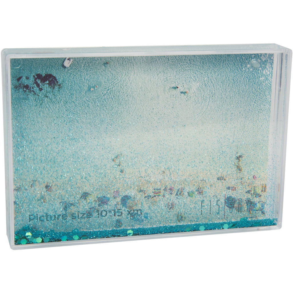 Photo Frame Green Glitter