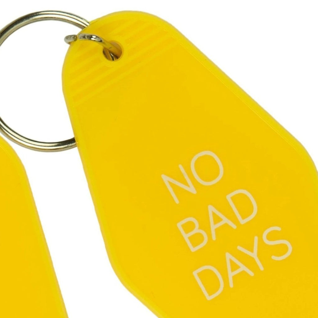 "Llavero ""No Bad Days"" Amarillo"
