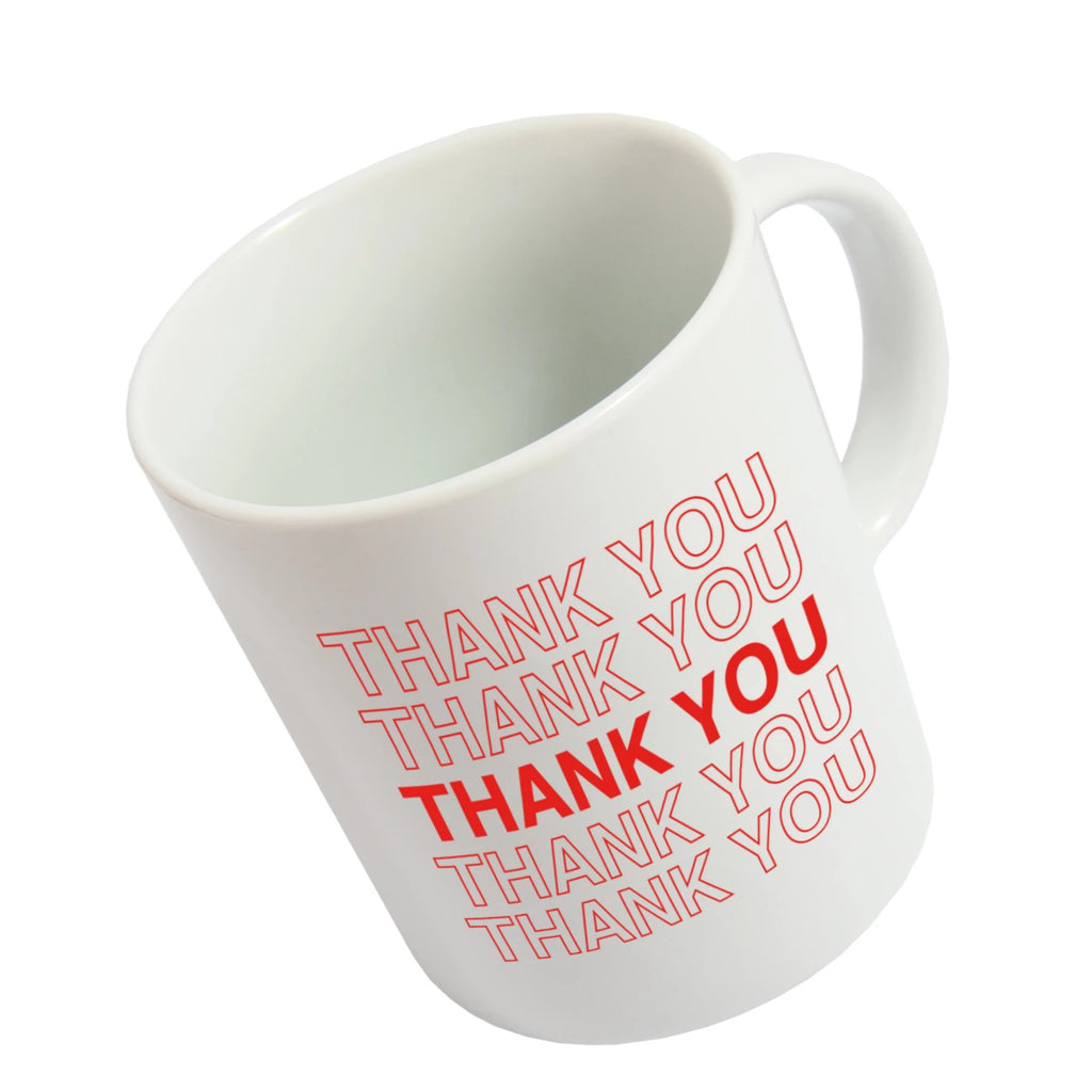 Taza 'Thank you, Thank you'