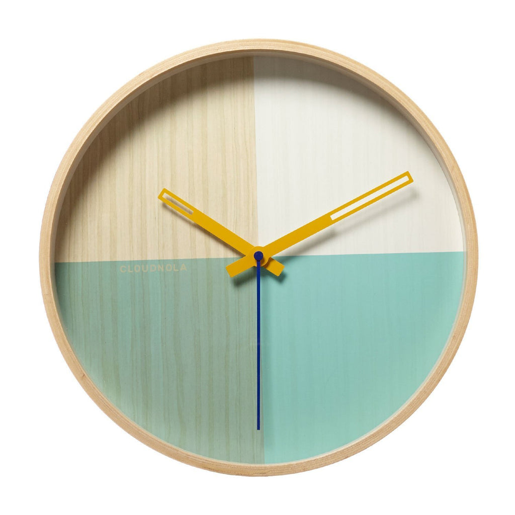Reloj Flor Green Wood 30 CM