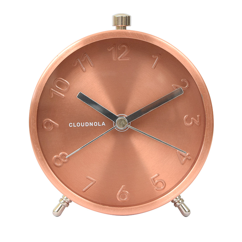 Reloj despertador Glam Copper