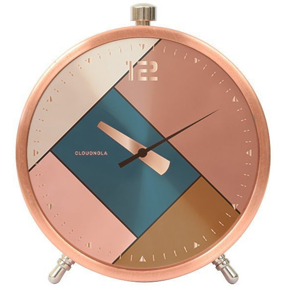 Reloj despertador Rubik Rose Gold