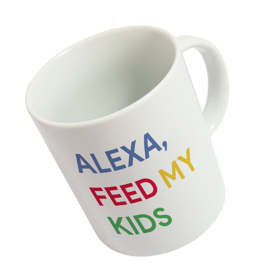 Taza 'Alexa, feed my kids' ENG