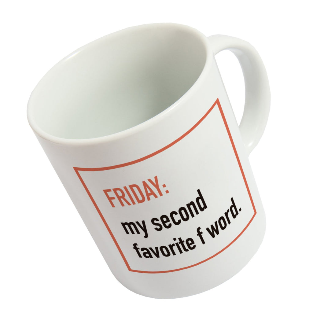 Taza 'Friday,my second favorite…' ENG