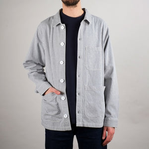 Dedicated Worker Jacket Sala Thin Stripes