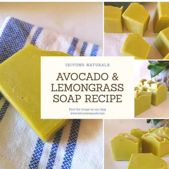 Avocado & Lemongrass Soap Recipe