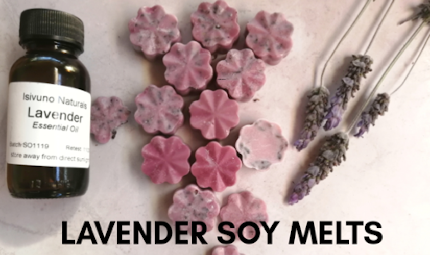 How to Make Lavender Soy Wax Melts