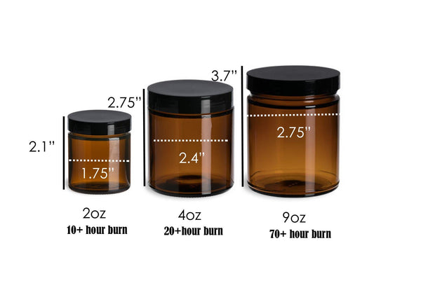 Amber Jar Measurements