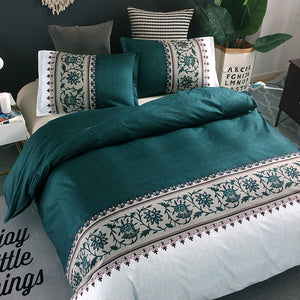 Printing Duvet Cover Sets Polyester Plain Printed Bedding Set Reactive Printing Duvet Cover With Pillowcases Bedding Set - Trend BoxPrinting Duvet Cover Sets Polyester Plain Printed Bedding Set Reactive Printing Duvet Cover With Pillowcases Bedding Set Printing Duvet Cover Sets Polyester Plain Printed Bedding Set Reactive Printing Duvet Cover With Pillowcases Bedding Set