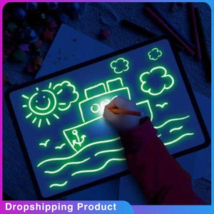 Glowing Paint Glow Light Tablet - Trend BoxGlowing Paint Glow Light Tablet Glowing Paint Glow Light Tablet