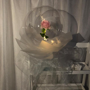 Bath & Beauty LED Luminous Balloon Rose Bouquet - Trend BoxLED Luminous Balloon Rose Bouquet Bath & Beauty Bath & Beauty LED Luminous Balloon Rose Bouquet