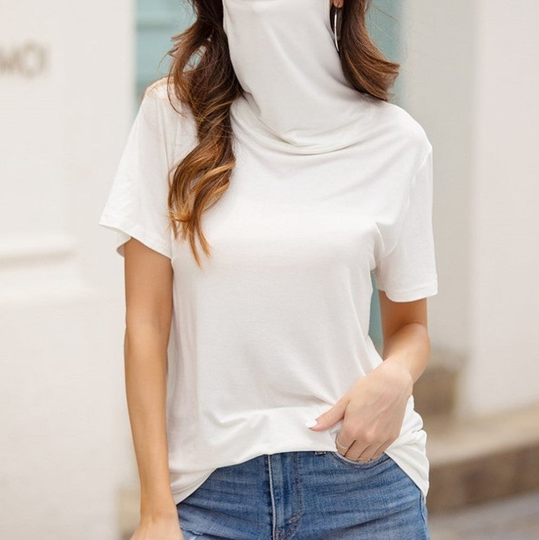 New Fashion Dustproof Short Sleeve-Long Sleeve Mask T-Shirt - Trend BoxNew Fashion Dustproof Short Sleeve-Long Sleeve Mask T-Shirt New Fashion Dustproof Short Sleeve-Long Sleeve Mask T-Shirt