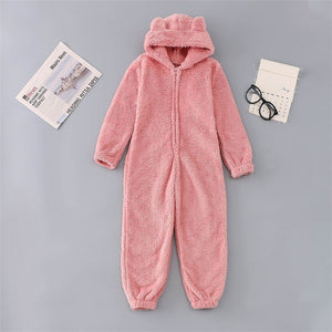 Cozy Autumn And Winter Plush Jumpsuit Hooded Pajamas - Trend BoxCozy Autumn And Winter Plush Jumpsuit Hooded Pajamas Cozy Autumn And Winter Plush Jumpsuit Hooded Pajamas