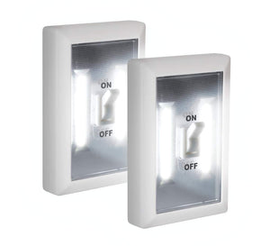 Super Bright Switch: Wireless Peel And Stick LED Lights 2 pack, White - Trend BoxSuper Bright Switch: Wireless Peel And Stick LED Lights 2 pack, White Super Bright Switch: Wireless Peel And Stick LED Lights 2 pack, White