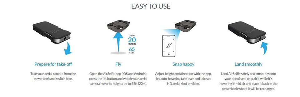 Pocket Size Selfie Flying Camera - Trend BoxPocket Size Selfie Flying Camera Pocket Size Selfie Flying Camera