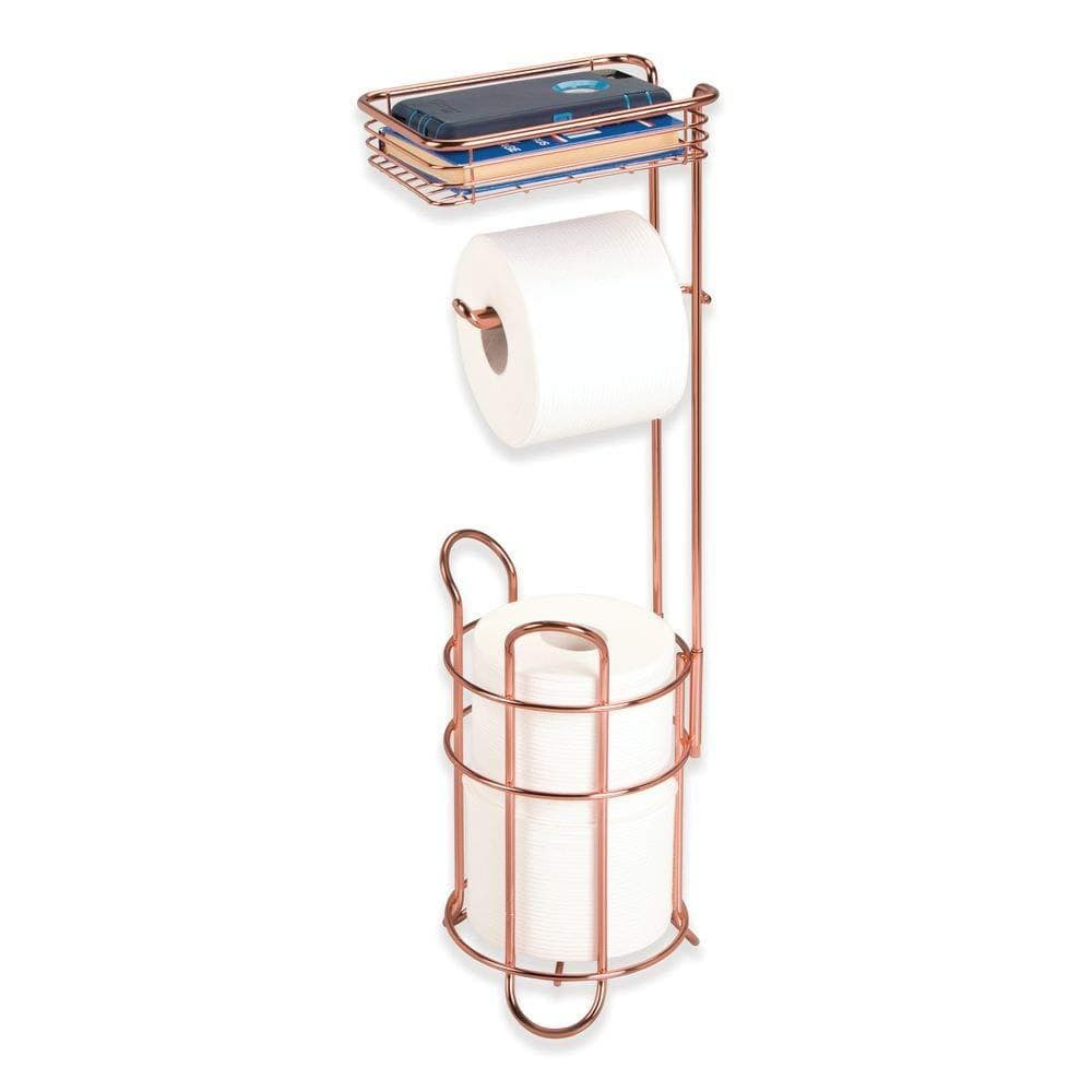 Metal Wire Toilet Paper Roll Holder Stand - Trend BoxMetal Wire Toilet Paper Roll Holder Stand Metal Wire Toilet Paper Roll Holder Stand