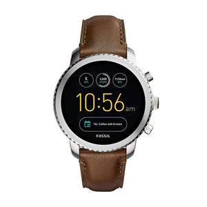 Gen 3 Explorist Stainless Steel And Leather Smartwatch - Trend BoxGen 3 Explorist Stainless Steel And Leather Smartwatch Gen 3 Explorist Stainless Steel And Leather Smartwatch
