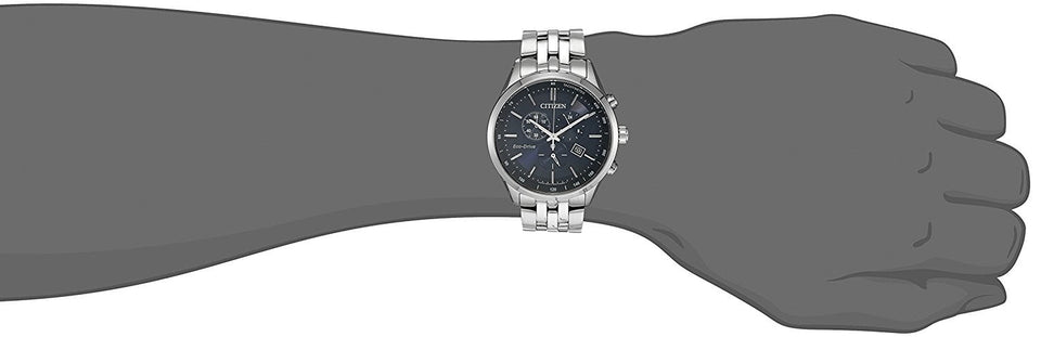 Citizen Men's Eco-Drive Chronograph Stainless Steel Watch With Date - Trend BoxCitizen Men's Eco-Drive Chronograph Stainless Steel Watch With Date Citizen Men's Eco-Drive Chronograph Stainless Steel Watch With Date