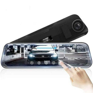 Full-Screen LCD Rearview Mirror, Front and Rear Car Recorder(Single Lens) - Trend BoxFull-Screen LCD Rearview Mirror, Front and Rear Car Recorder(Single Lens) Full-Screen LCD Rearview Mirror, Front and Rear Car Recorder(Single Lens)