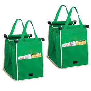 2Pack Reusable Shopping Grocery Eco Bags - Trend Box2Pack Reusable Shopping Grocery Eco Bags 2Pack Reusable Shopping Grocery Eco Bags