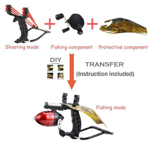 Fishing Hunting Professional Slingshot High Velocity Catapult Kit - Trend BoxFishing Hunting Professional Slingshot High Velocity Catapult Kit Fishing Hunting Professional Slingshot High Velocity Catapult Kit